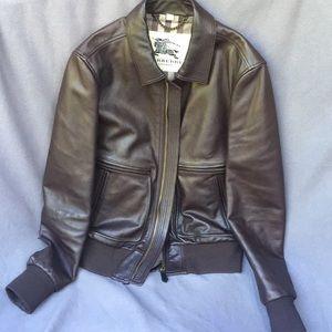 Men's leather jacket